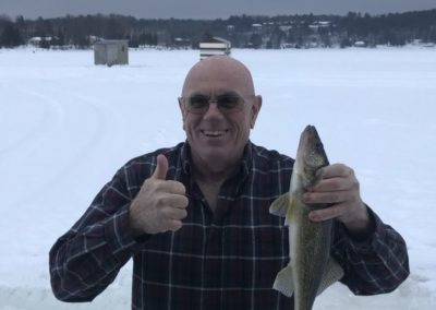 Lake Nippissing Ice Fishing