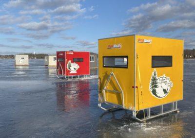 Northern Ontario ice fishing